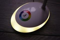 Licht met leiden en RGB licht Lichte omschakeling, stock foto's