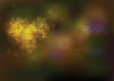 Licht mit Herzform Blumenstrauß-Valentinsgrußthemen Lizenzfreie Stockbilder