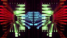 Licht muurspectrum stock videobeelden