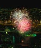 Licht omhoog de haven Royalty-vrije Stock Afbeelding