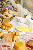 Licht ontbijt Royalty-vrije Stock Afbeeldingen