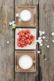 Licht ontbijt Stock Foto's