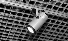 Licht op dak Stock Foto's