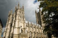 Licht op de kathedraal Royalty-vrije Stock Foto's