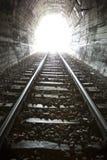 Licht op eind van Tunnel Royalty-vrije Stock Fotografie