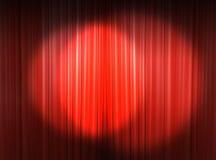 Licht op het belangrijkste stadium Vector Illustratie