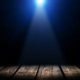 Licht op houten Royalty-vrije Stock Foto