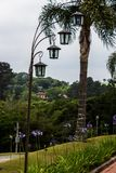 Licht ornament royalty-vrije stock fotografie