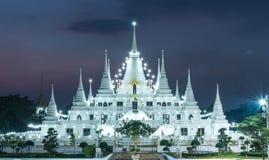 Licht-Pagode wat asokaram, Pagoden-Tempel Thailand Lizenzfreies Stockbild