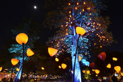 Licht park royalty-vrije stock foto