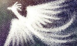 Licht Phoenix royalty-vrije illustratie