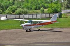 Licht privé vliegtuig Stock Afbeelding