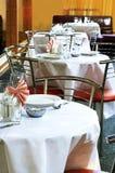 Licht restaurant Stock Foto's