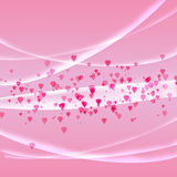Licht roze als achtergrond Royalty-vrije Stock Foto