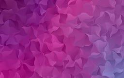 Licht roze - purper abstract mozaïekpatroon Vector illustratie Een steekproef met veelhoekige gradiëntvormen Stock Foto's