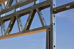 Licht staalkader 2 Stock Foto's