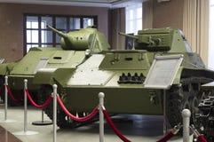 Licht tank t-40C model van 1941 Royalty-vrije Stock Foto