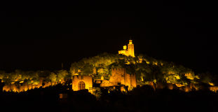 Licht toon in Veliko Tarnovo, Bulgarije Royalty-vrije Stock Fotografie