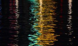 Licht umgekehrte Reflexion stock abbildung