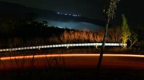 Licht und Nacht lizenzfreies stockbild