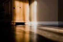 Licht- und Schattenhaus lizenzfreies stockbild