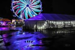Licht und Töne von San Marcos Texas Lizenzfreie Stockfotografie