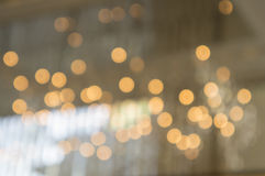 Licht unscharfes Hintergrundreflexionskonzept Stockbild