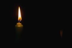Licht van candel Stock Afbeelding
