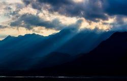 Licht van hoop Stock Foto's