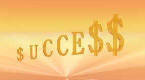 Licht van Succes Stock Foto