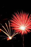 Licht van vuurwerk Stock Fotografie