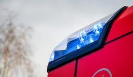 Licht von Feuerspritzen Lizenzfreie Stockbilder