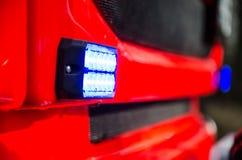 Licht von Feuerspritzen Stockfoto