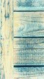 Lichtblauw hout met een uitgesproken textuur van oude houten plankenachtergrond royalty-vrije stock foto