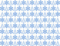 Lichtblauw Kerstmispatroon Royalty-vrije Stock Foto