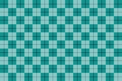 Lichtblauw patroon Textuur van ruit/vierkanten voor - plaid, tafelkleden, kleren, overhemden, kleding, document, beddegoed, deken stock illustratie