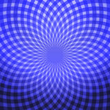 lichtblauwe abstracte spiraal Royalty-vrije Stock Fotografie