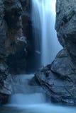 Lichtblauwe cascade Royalty-vrije Stock Fotografie