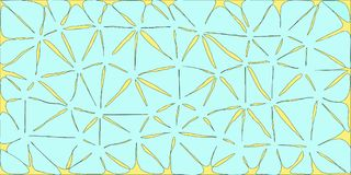 Lichtblauwe Gestileerde Bloemenachtergrond royalty-vrije illustratie