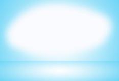 Lichtblauwe gradiënt abstracte achtergrond Lege ruimte voor vertoningsproduct Royalty-vrije Stock Afbeeldingen