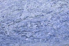 Lichtblauwe graniet dichte omhooggaand met wervelingen royalty-vrije stock foto's