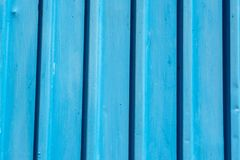 Lichtblauwe houten oude planking achtergrond met barsten royalty-vrije stock afbeeldingen