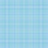 Lichtblauwe plaid Stock Foto
