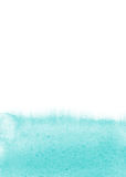 Lichtblauwe waterverfachtergrond Stock Afbeelding