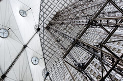 Lichtbogen de defense, Paris, Frankreich, Reise, Gebäude, s Stockbilder