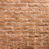 Lichtbruin baksteenpatroon als achtergrond royalty-vrije stock afbeeldingen