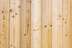 Lichtbruin hout met houten korrel Royalty-vrije Stock Fotografie