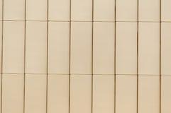 Lichtbruine Bakstenen muur Stock Afbeelding