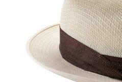 Lichtbruine hoed Stock Afbeeldingen