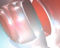 Lichtdurchlässige abstrakte Hintergrundtapete stock abbildung
